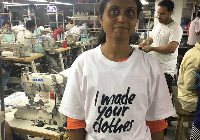 Piccalilly Way - Factory worker. Child labour free