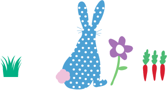 Piccalilly Dotty Bunny Footer Image